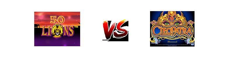 Slot 50 Lions vs Cleopatra