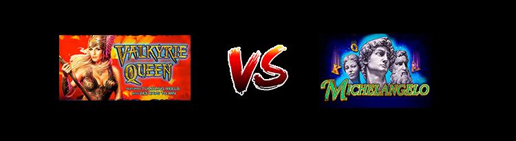 Slot online: Valkyrie Queen VS Michelangelo